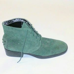 Talbot green lace up bootie Size 6.5